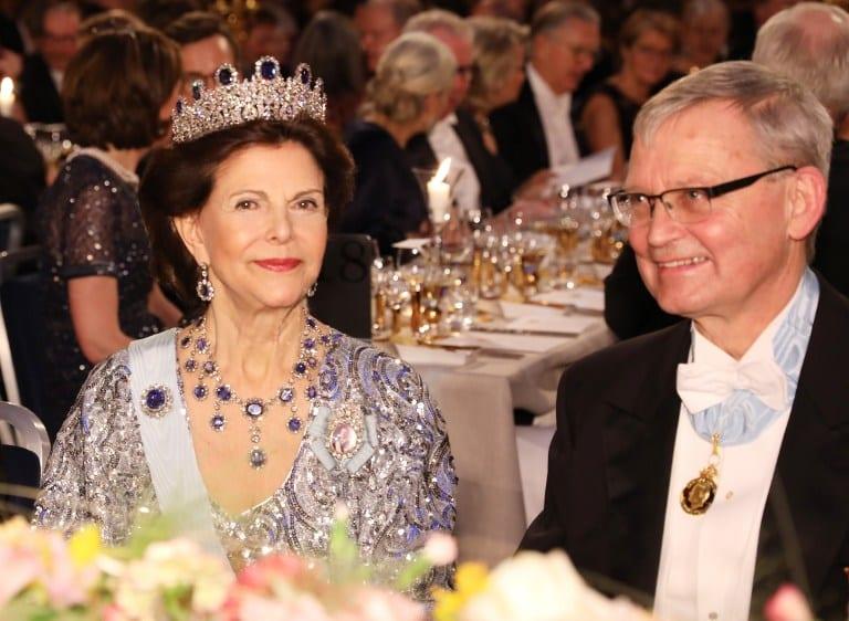 Reyes suecos Carlos Gustavo y Silvia.