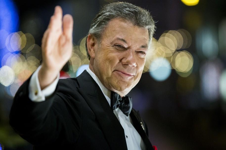 Presidente Juan Manuel Santos, premio Nobel de Paz