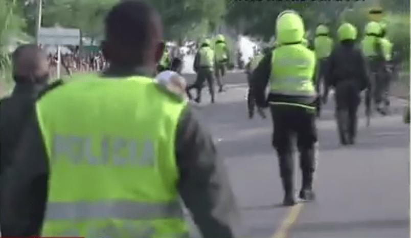 Disturbios en Manatí