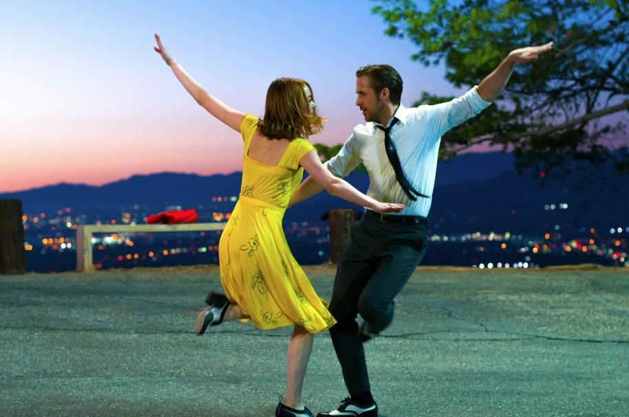 Emma Stone y Ryan Gosling en la cinta 'La La Land'