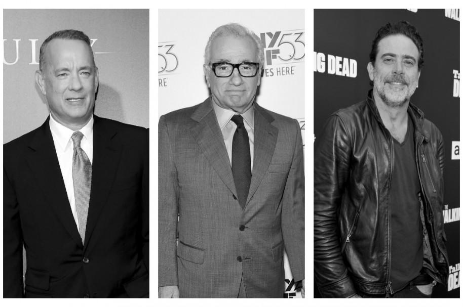 Tom Hanks, Martin Scorsese y Jeffrey Dean Morgan