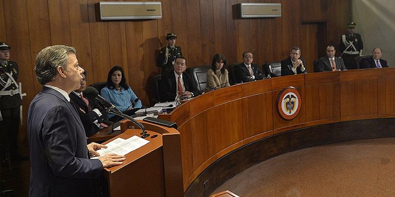 Santos en la Corte Constitucional