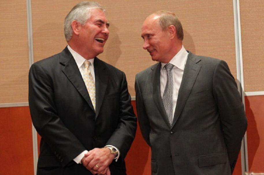 Trump elige a hombre cercano a Putin como Secretario de Estado