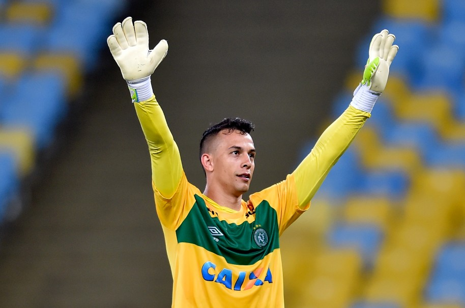 Danilo, en un partido del Brasileirão