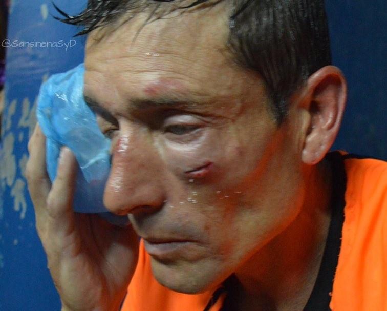 Claudio Elichirri, el árbitro agredido