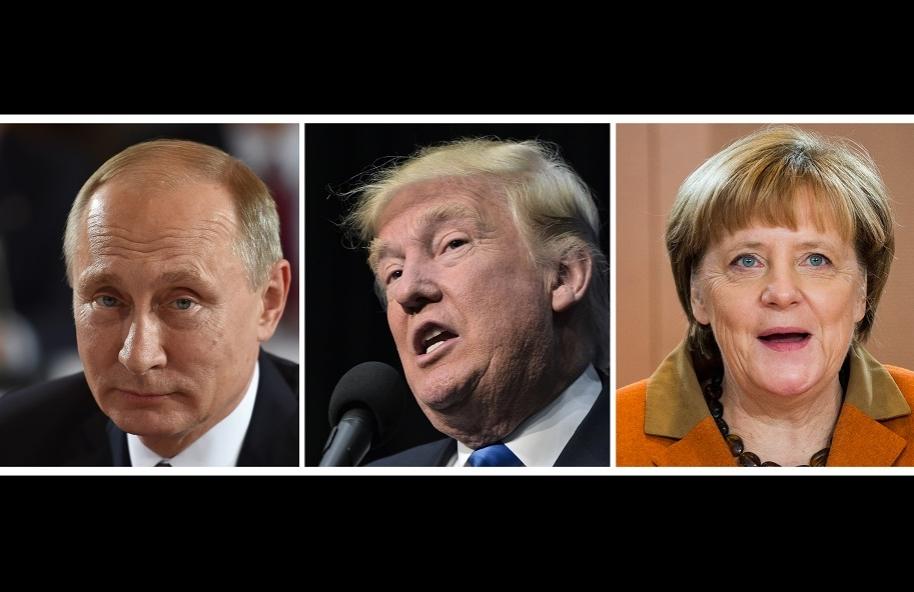 Putin, Trump, y Merkel hacen parte de la lista Forbes