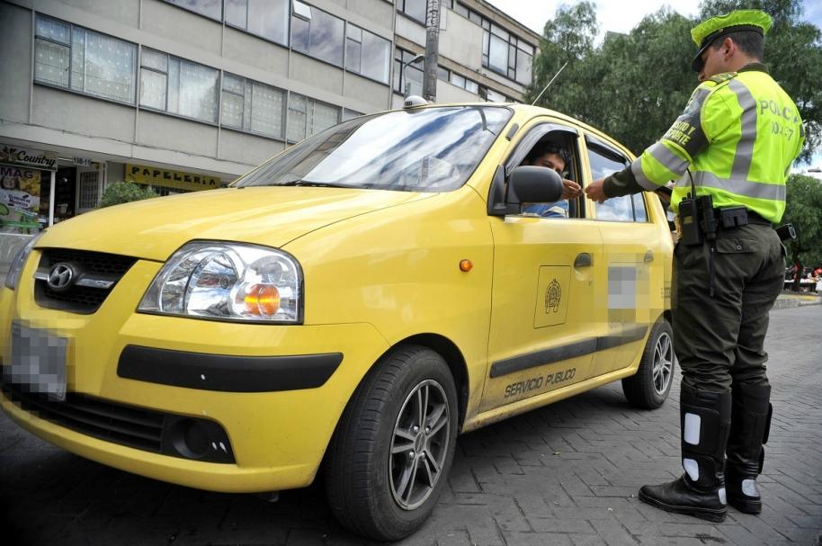 Taxista ilustración