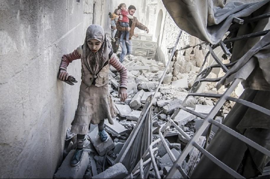 Niños de Alepo