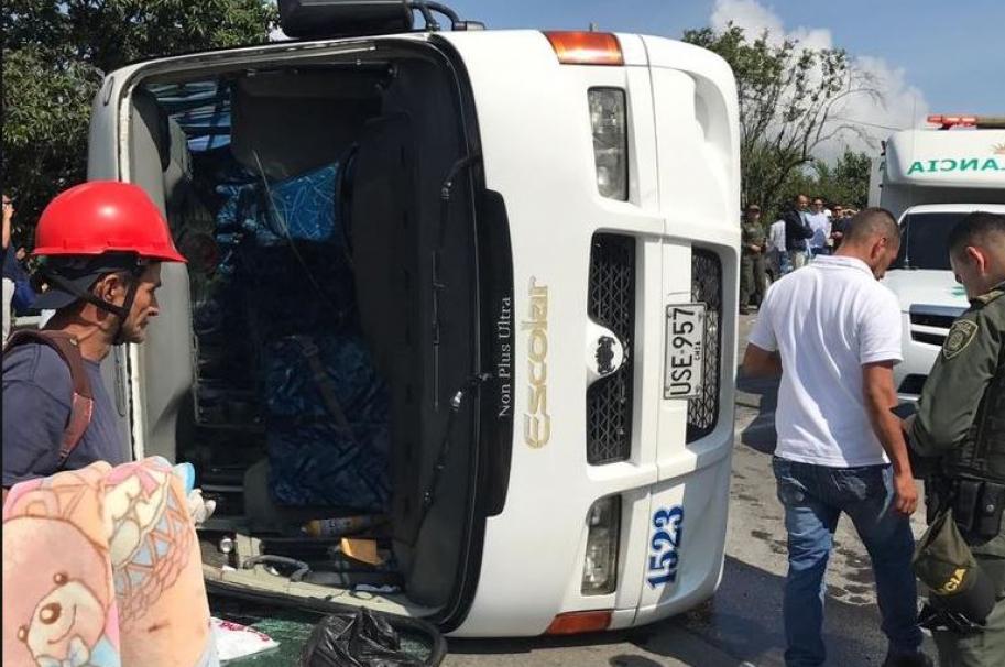 Accidente Bogotá-La Vega