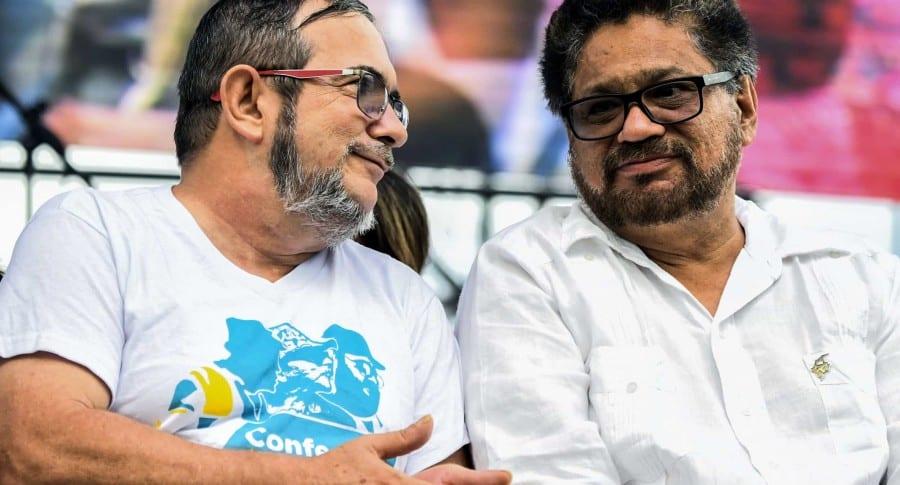 Timochenko e Iván Márquez
