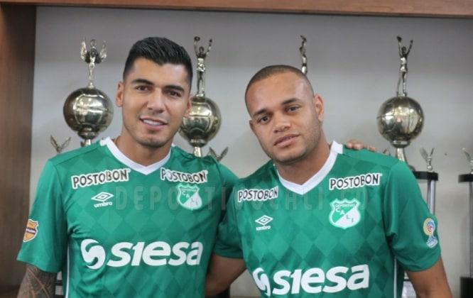Jefferso Duque y Pablo Mina