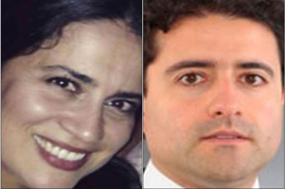 Carolina y Francisco Uribe Noguera.