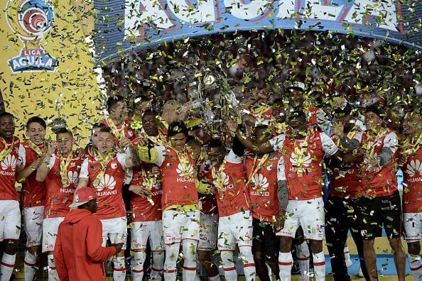 Independiente Santa Fe, campeón de la Liga Águila 2016-II