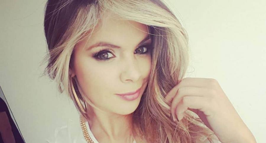 Alejandra Serje, exprotagonista de Novela, modelo y expresentadora de 'Bravísimo'.