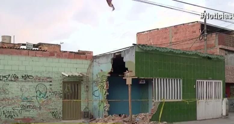 La vivienda quedó expuesta a los ladrones