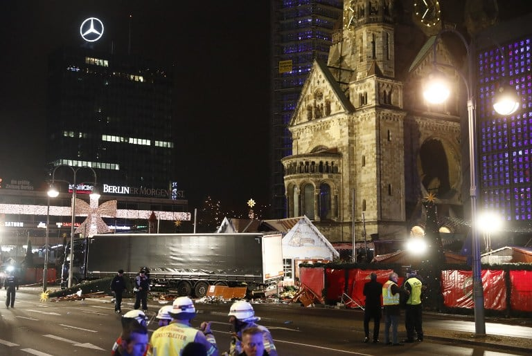 Atentado en Berlín