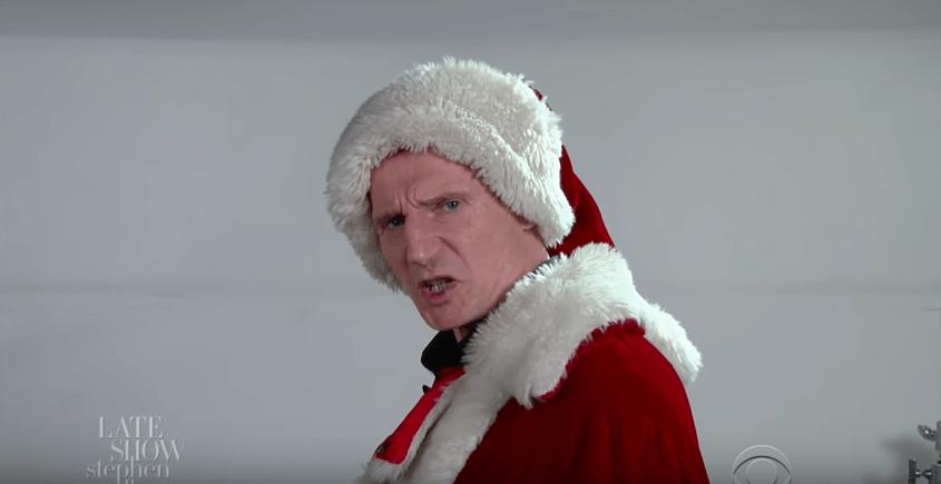 Liam Neeson como Papá Noel. Pulzo.com