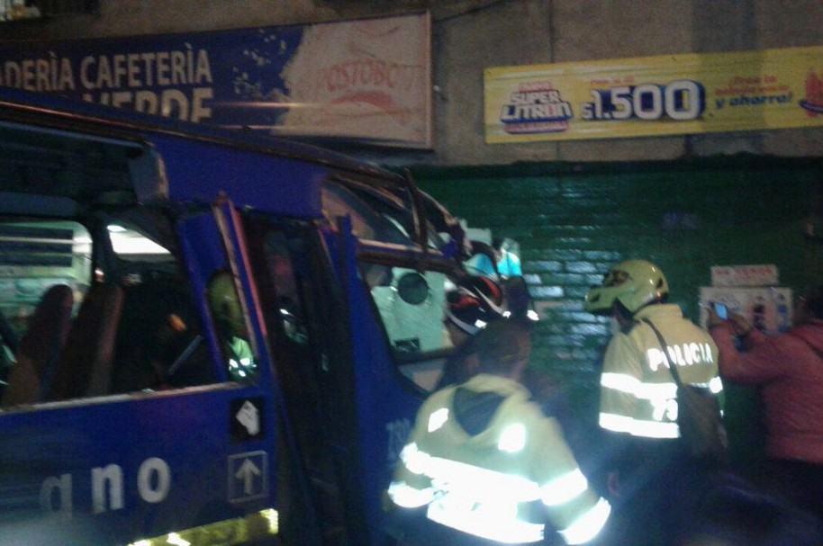 Accidente en panadería de Ciudad Bolívar