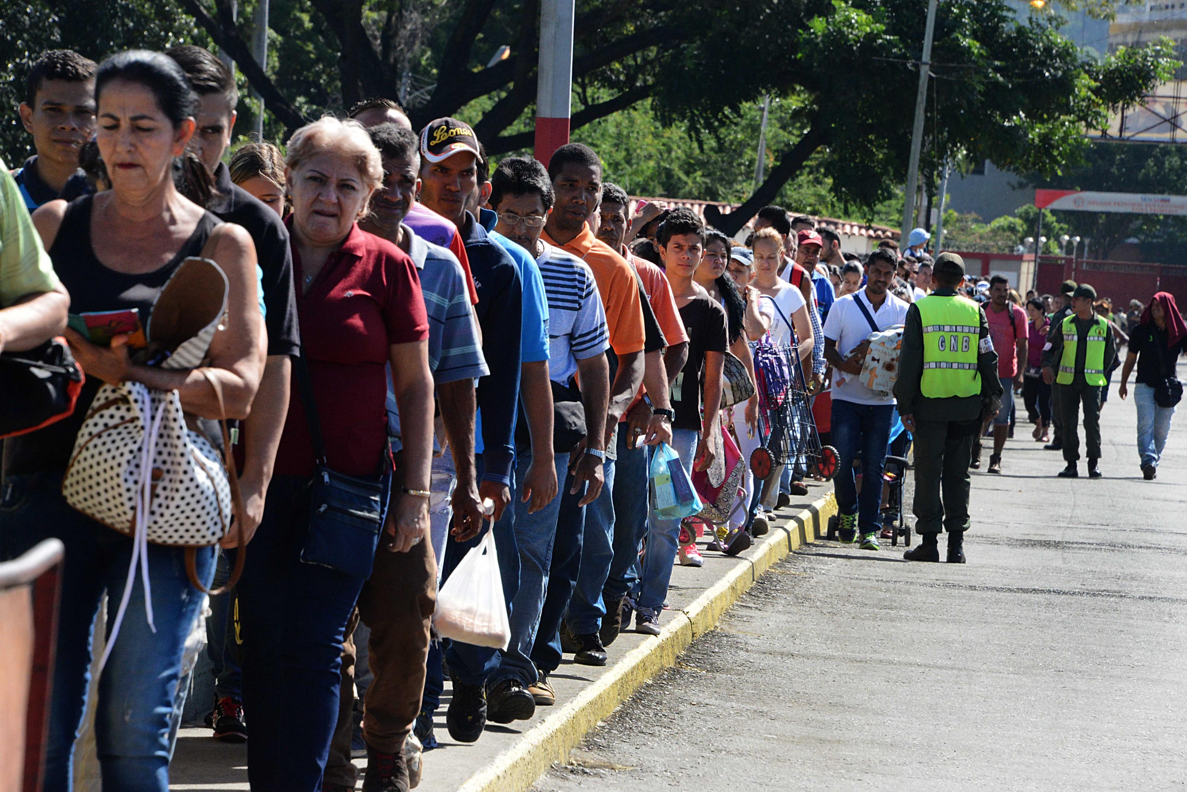 VENEZUELA-ECONOMY-CRISIS-BORDER