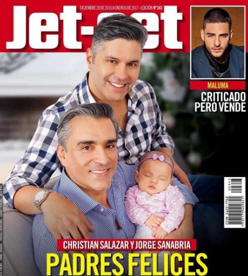 Christian Salazar y Jorge Sanabria