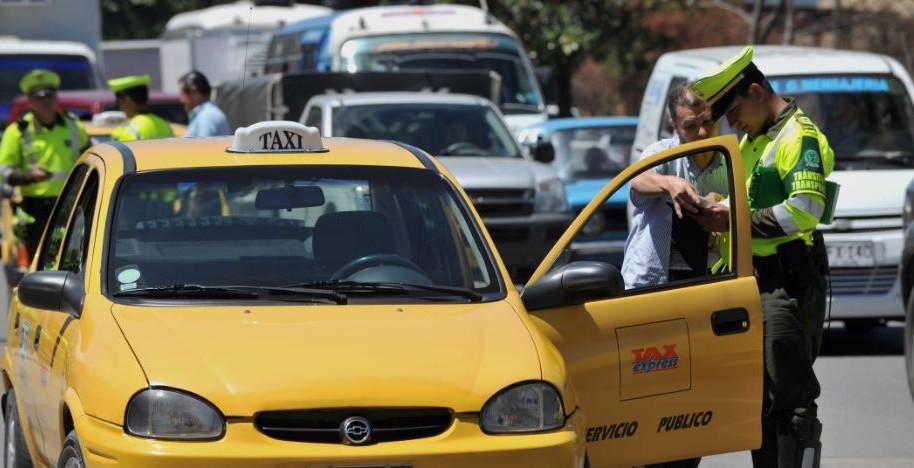 Multas taxistas