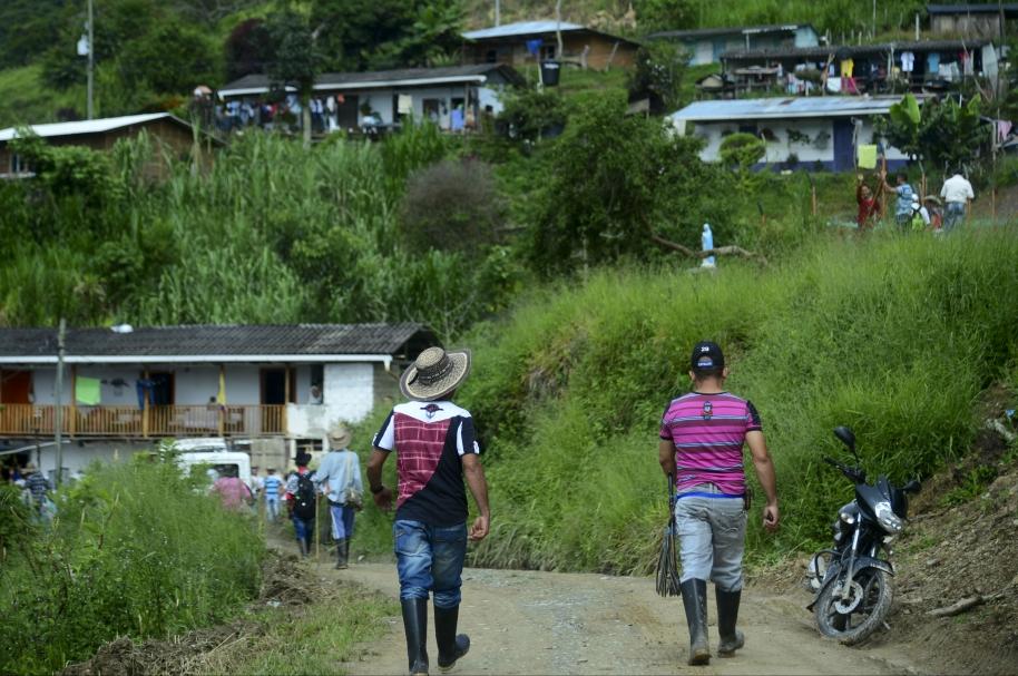 Desminado en Briceño, Antioquia