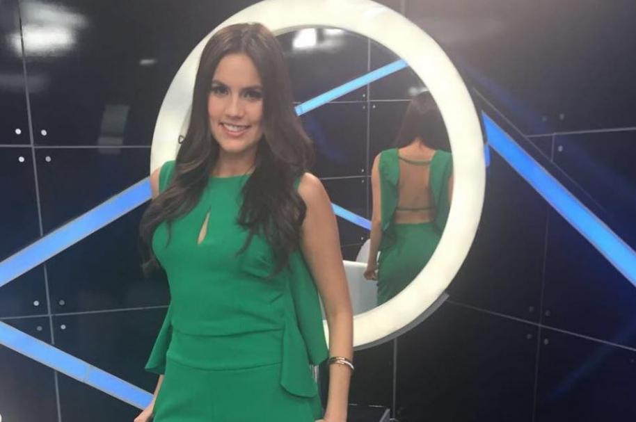 Linda Palma, presentadora de Caracol.