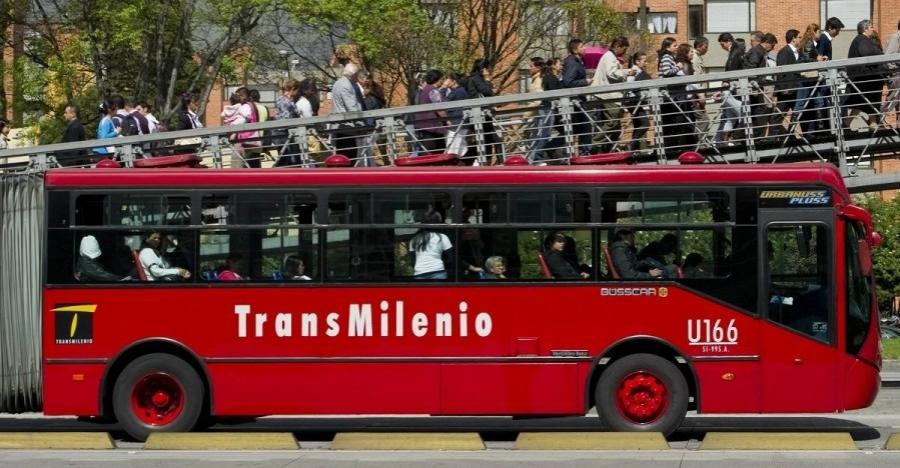 Transmilenio ilustración