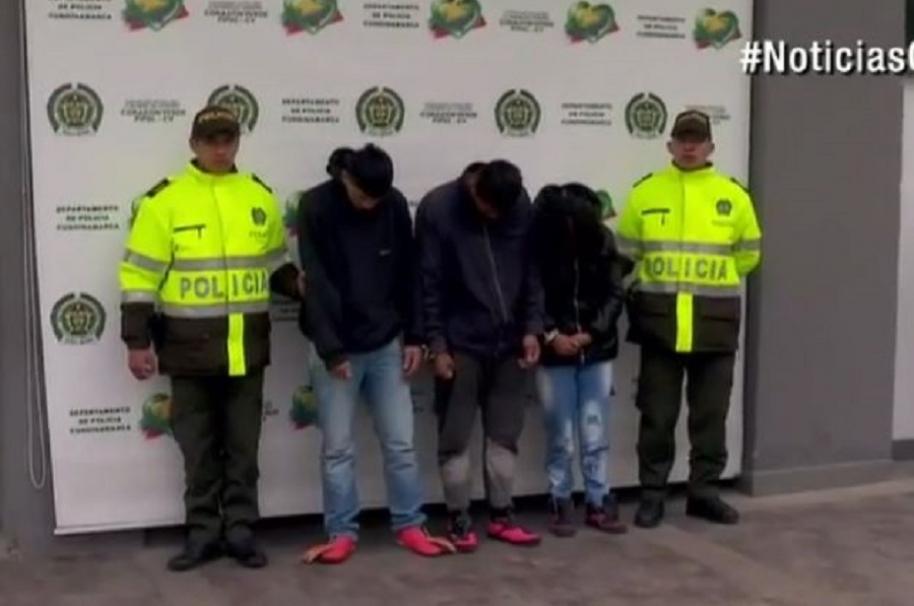 Una mujer y dos hombres fueron capturados