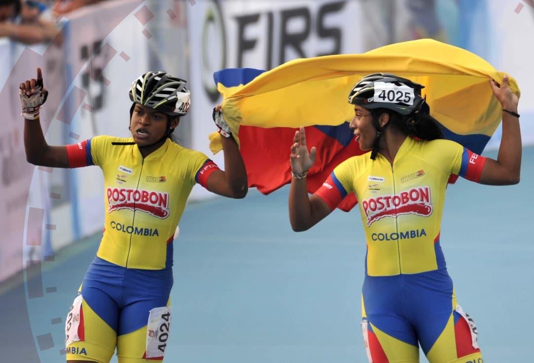 Patinadoras colombianas