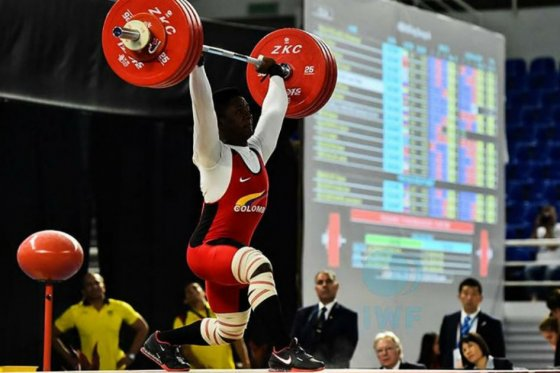 Colombia en Mundial juvenil de pesas