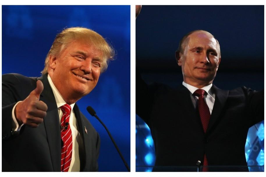 Donald Trump / Vladímir Putin