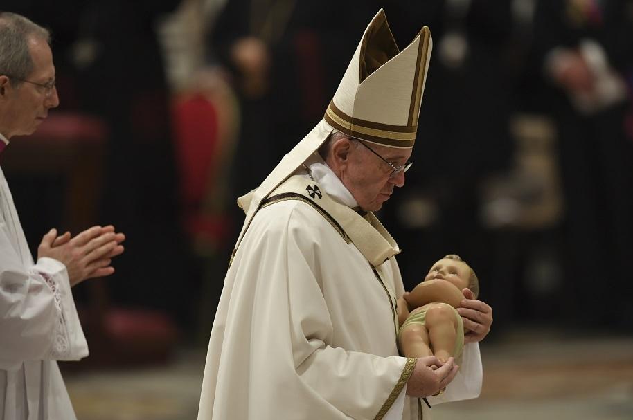 Papa Francisco en Navidad