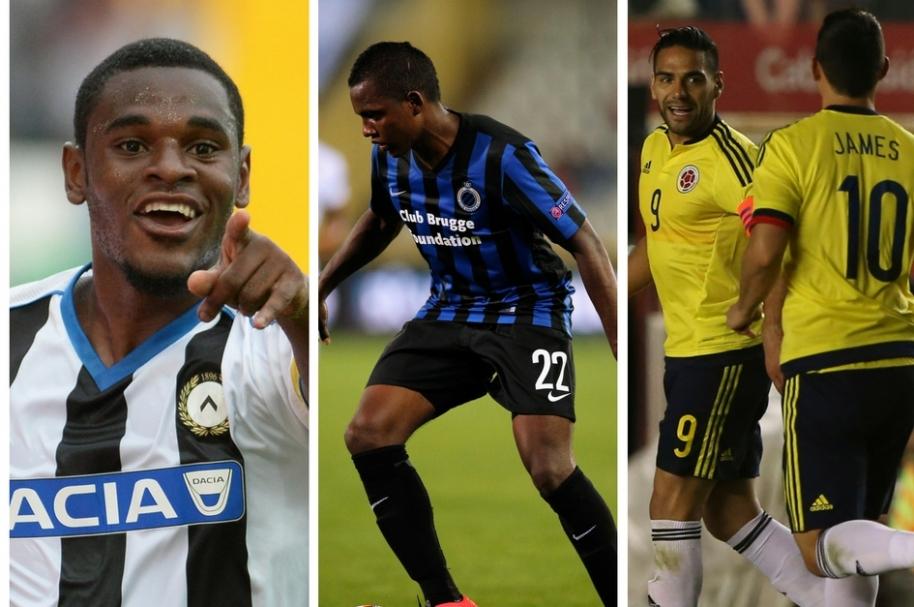 Futbolistas colombianos más costosos