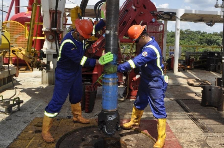 Pozo de gas en Colombia