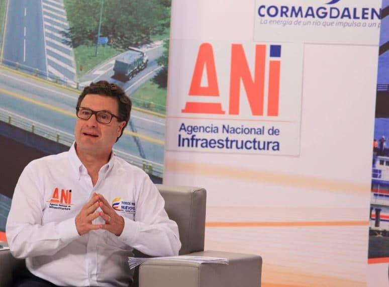 Luis Fernando Andrade, director de la ANI.