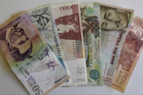Resultado de imagen para billetes colombianos