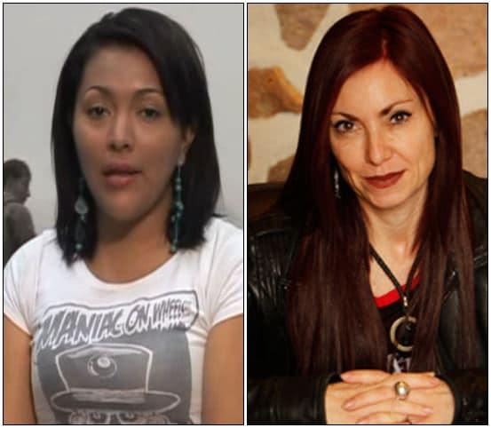 Farly Encarnación Heredia Tovar y Silvana Beatriz Casal.