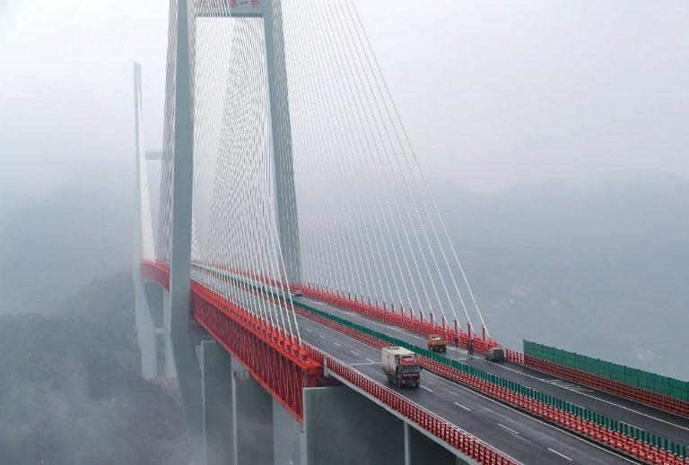 Puente más largo del mundo. China.