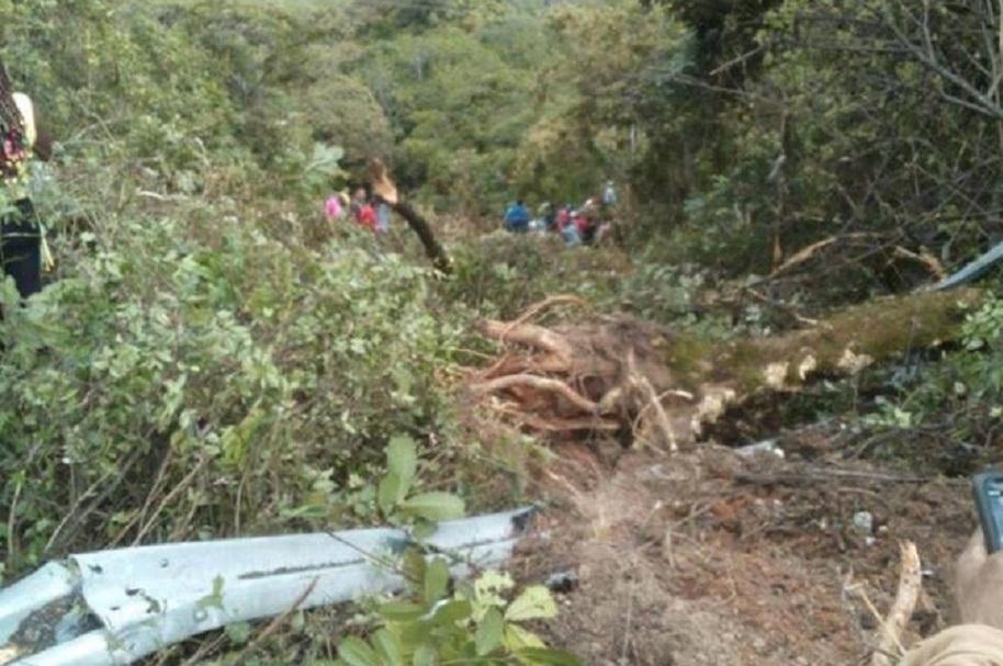 Accidente en Cauca
