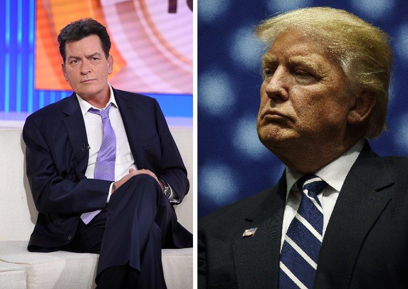 Charlie Sheen | Donald Trump