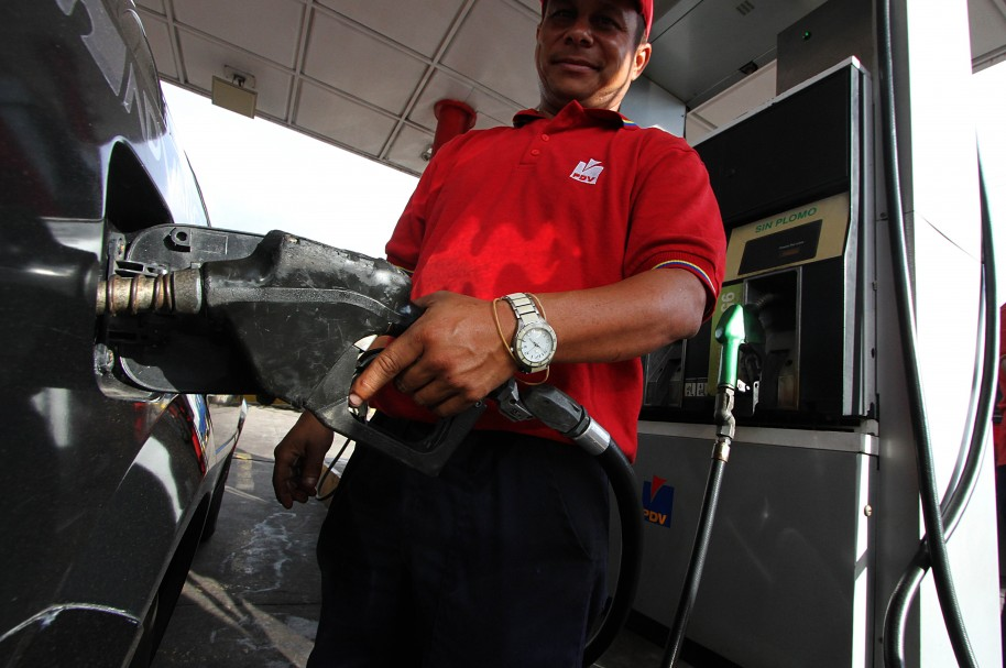 Gasolina en zona fronteriza de Venezuela