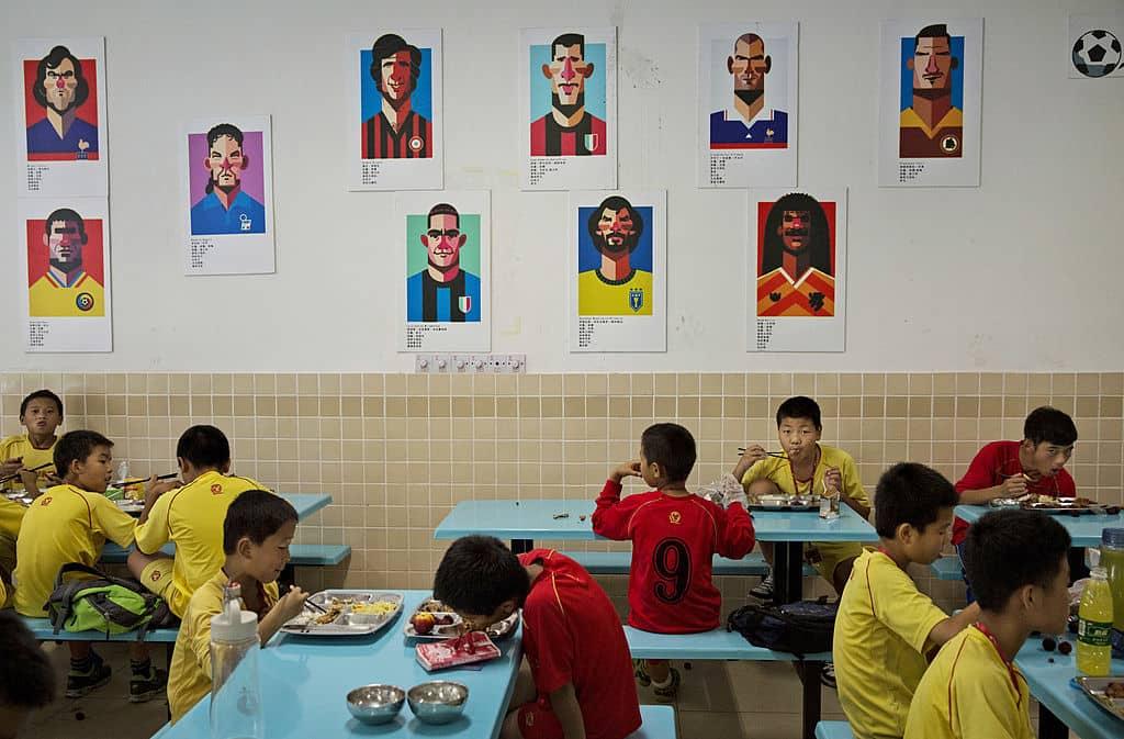 Escuela de fútbol de Evergrande