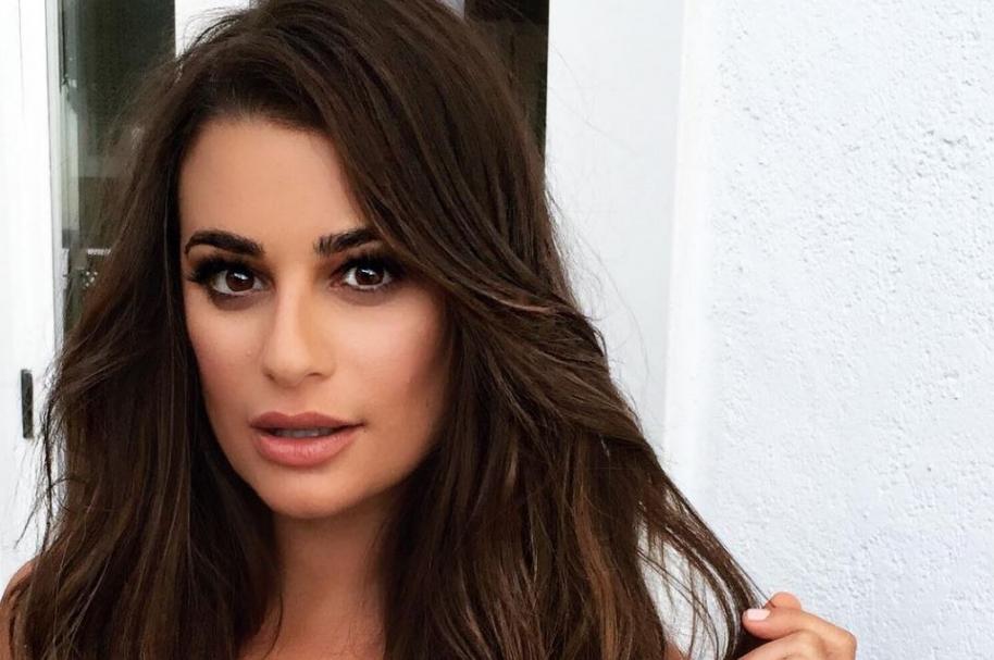 Lea Michele, cantante y actriz, conocida por su papel de Rachel Berry en 'Glee'.