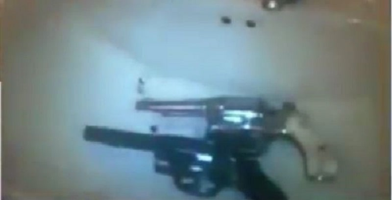 Fueron incautadas dos armas de fuego