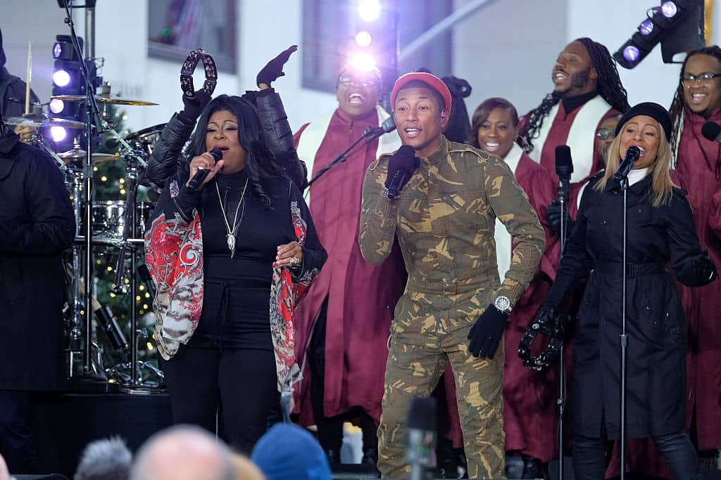 Kim Burrell y Pharell Williams