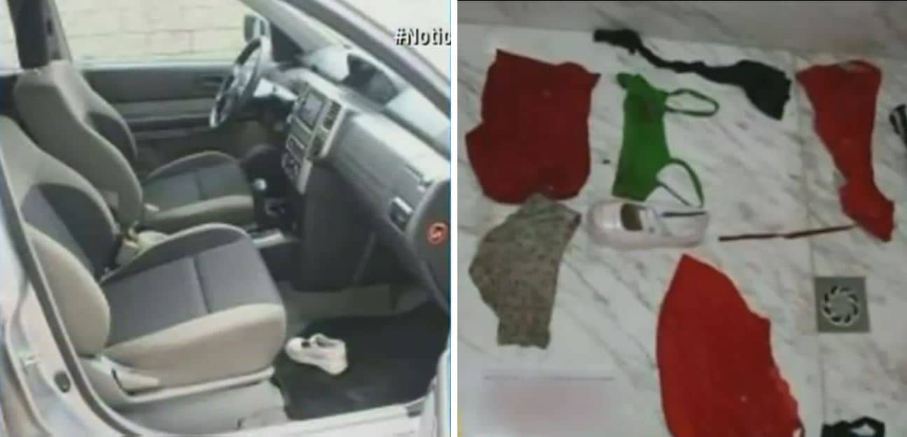 Un zapato de Yuliana fue encontrado en la camioneta y su ropa en el apartamento 603