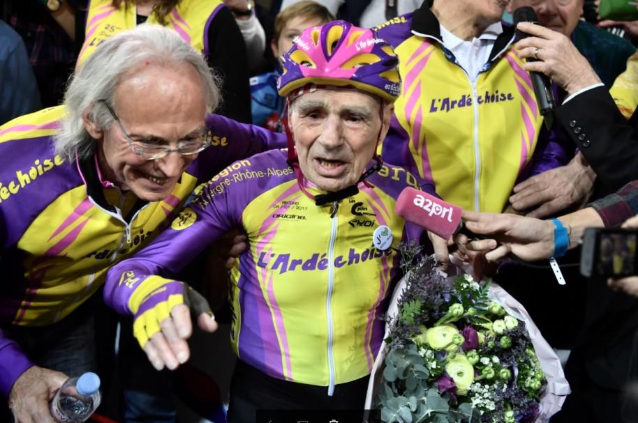 Ciclista de 105 años