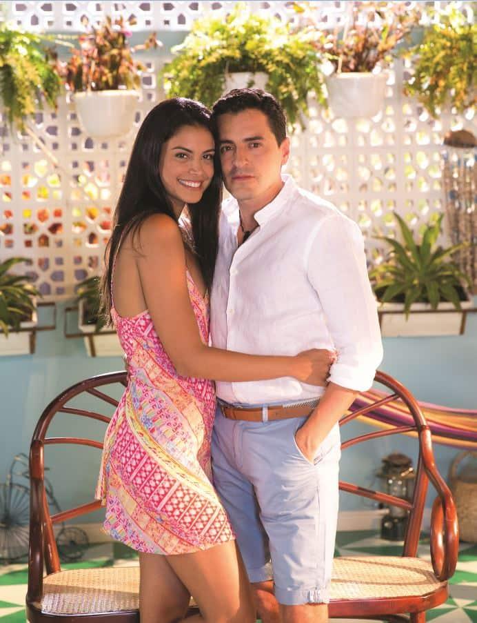 Rafael Zea y Johana Cure, protagonistas de 'Polvo Carnavalero'.