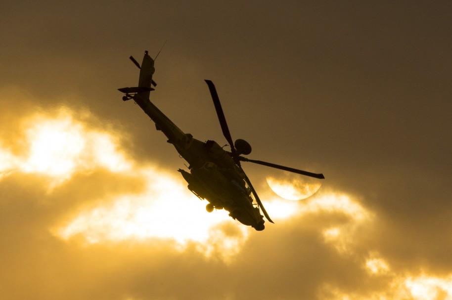 Helicóptero AH-64 (imagen de referencia)